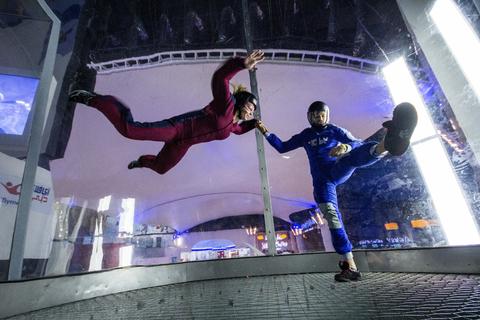 iFLY Dubai: eerste vliegervaring
