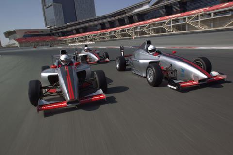 Dubai: F1-stijl formule-auto rijdervaring
