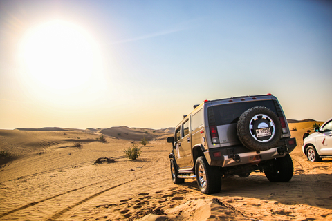 Vanuit Dubai: Jeepsafari, Barbecue en Quad Tour
