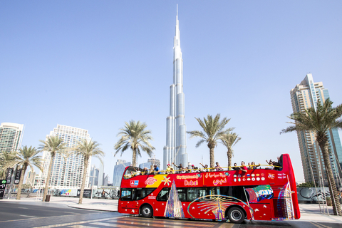 Dubai: hop on, hop off-bustour voor 24, 48 of 72 uur