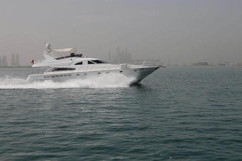 Dubai: 2 uur 62 voet jachtcruise