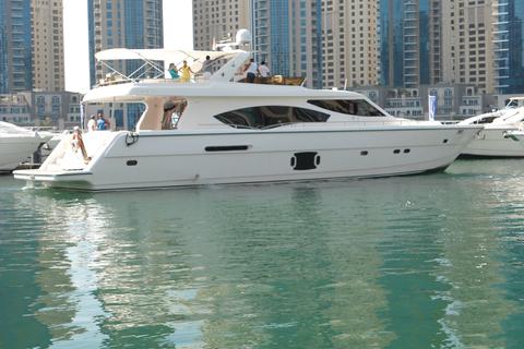 Dubai Yacht Cruise 85 voet (2 uur)