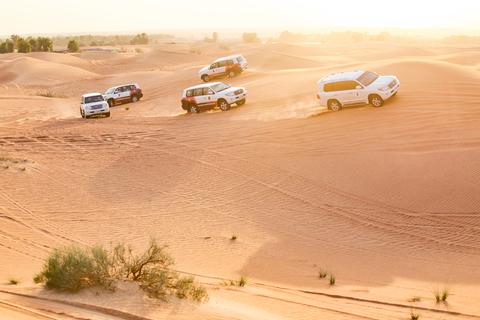 Dubai: woestijnsafari tijdens de middag en BBQ-diner
