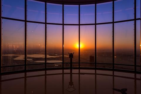 Burj Khalifa At the Top: ticket met zonsopgang
