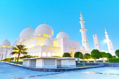 Abu Dhabi Sheikh Zayed Moskee Halfdaagse Tour vanaf Dubai