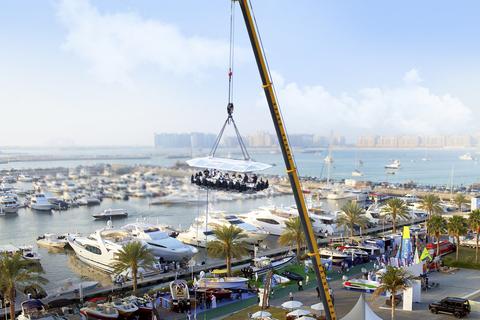Dubai: diner in de lucht