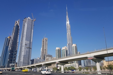 Dubai: 4-Hour City Tour en Burj Khalifa Ticket