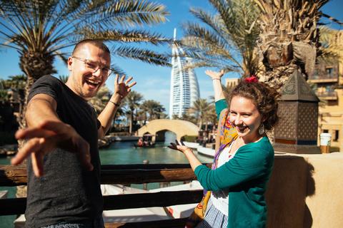 Het beste van Dubai: 5 uur durende privé-reis met lay-over