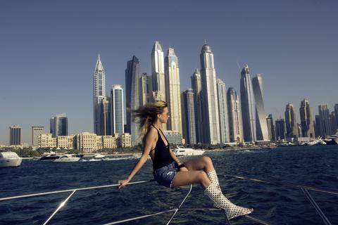 Dubai: luxe jachtcharter uit Dubai Marina
