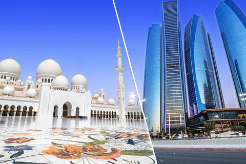 Vanuit Dubai: kleine groepstour Abu Dhabi & Etihad Towers