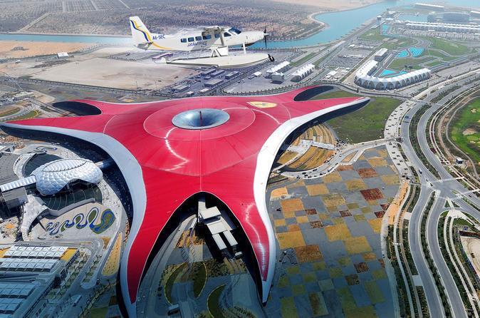 Abu Dhabi per watervliegtuig vanuit Dubai incl. Ferrari World en retourtransfer