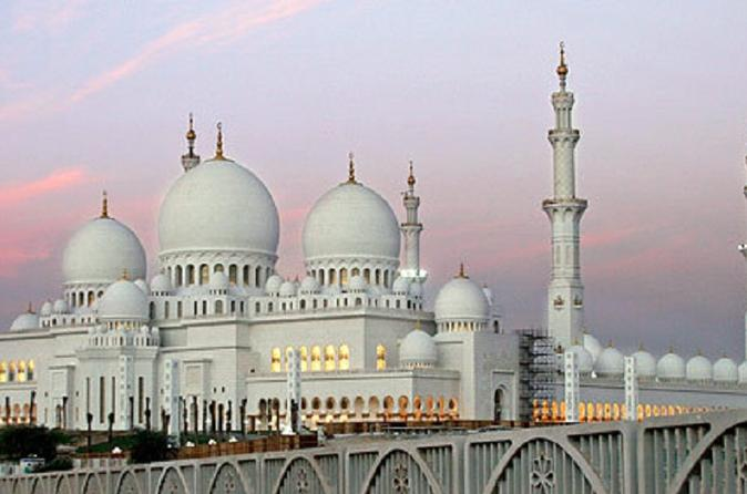 Abu Dhabi: Sheikh Zayed Grand Mosque and Ferrari World
