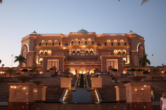 Abu Dhabi Sightseeing Tour pick from Dubai