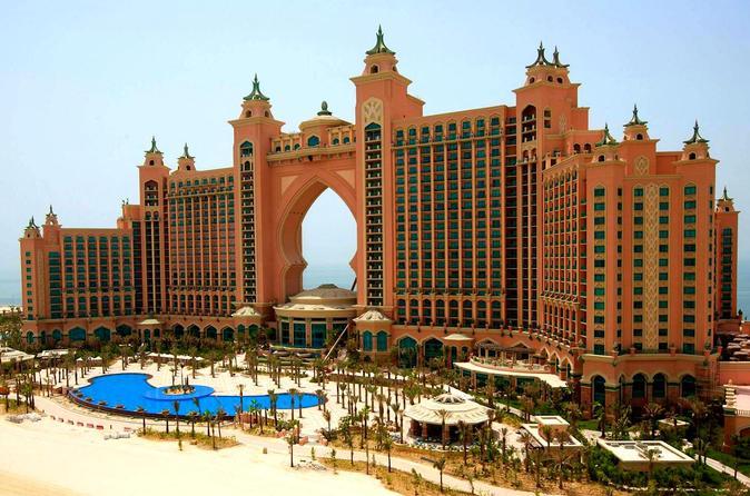 All-inclusive woestijnsafari, stadstour Dubai en dhowcruise langs Dubai Marina