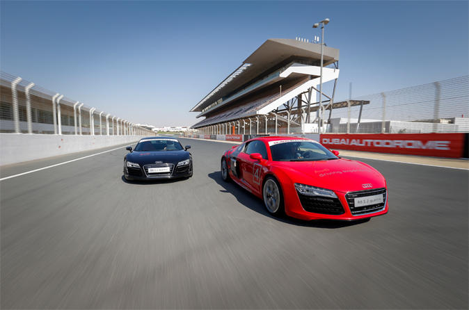 Audi R8 V10 Supercar Thrill Drive in Dubai