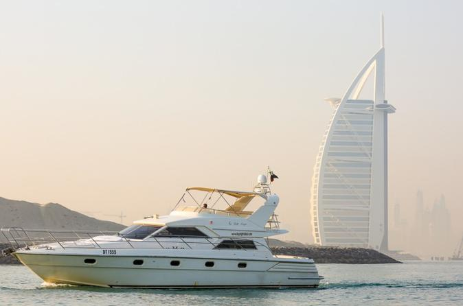 Boot Cruise rond de Burj Al Arab