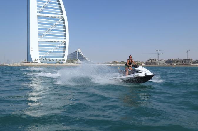 Burj Al Arab jetski-huurtour vanaf Dubai