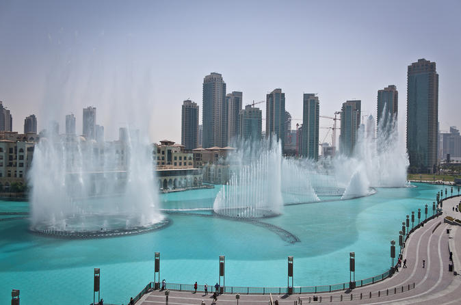 Burj Khalifa Tours and Musical Fountains From Dubai