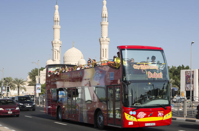 City Sightseeing Dubai en Sharjah Super Saver: hop-on hop-off tours