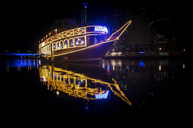Cruise met dhow Alexandra vanuit Dubai Marina