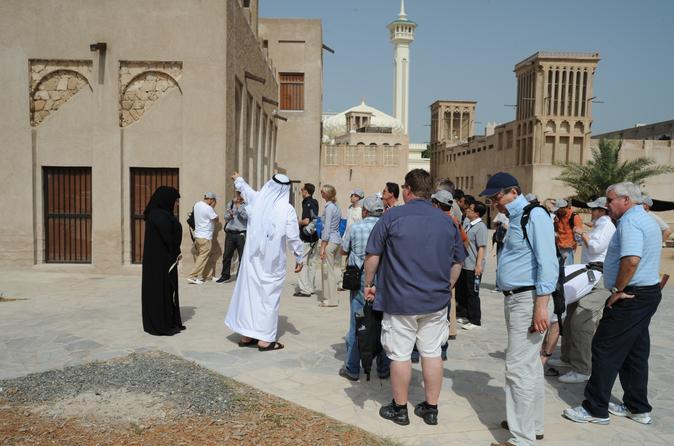 Culturele tour door Al Fahidi en Al Bastakiya in het authentieke oude Dubai