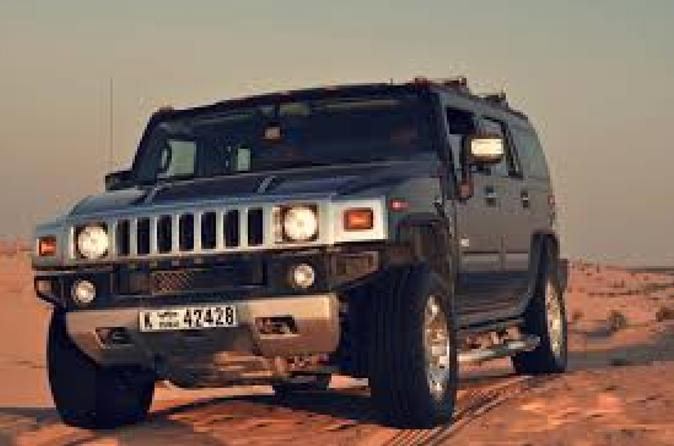 Desert Safari in Dubai by Land Cruiser with BBQ Dinner