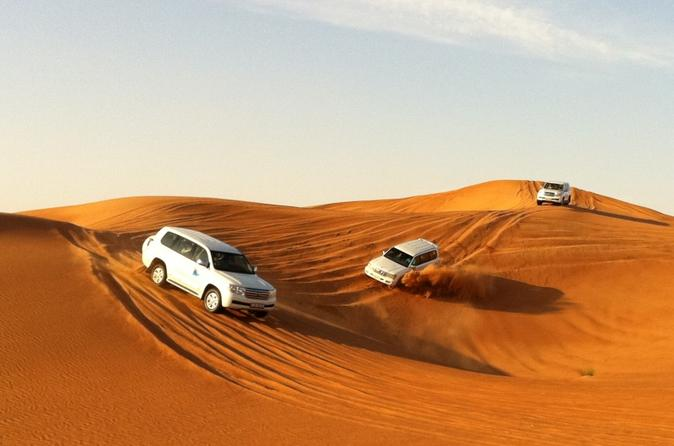 Desert Safari with BBQ Dinner and Creek Dhow Cruise