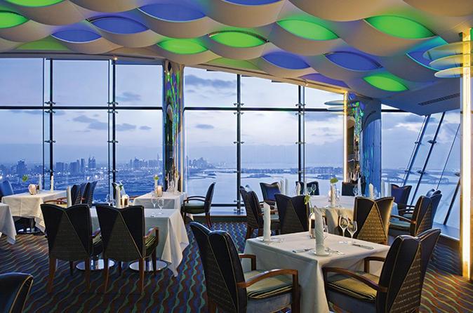 Diner in Burj Al Arab met privévervoer