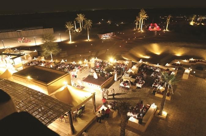 Dineren bij Al Sahra Desert met vervoer vanuit Dubai