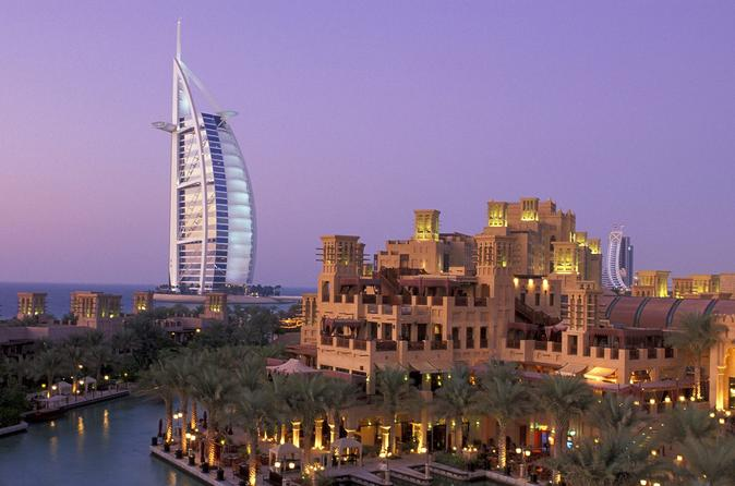 Dubai City Tour incl. Burj Khalifa 124th Floor Ticket and Dinner Dhow Cruise