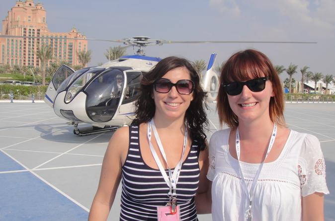 Dubai-combi: helikoptervlucht en stadstour