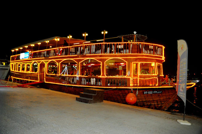 Dubai Moonlight Dinner Cruise