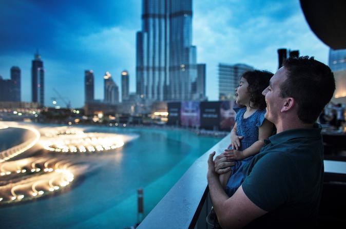 Dubai Sightseeing Tour including At the Top Burj Khalifa and Buffet Dinner