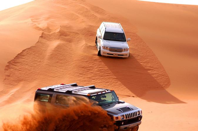 Evening Desert Safari in 4WD from Dubai