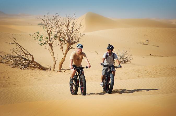 Fatbike-tour in de woestijn van Dubai