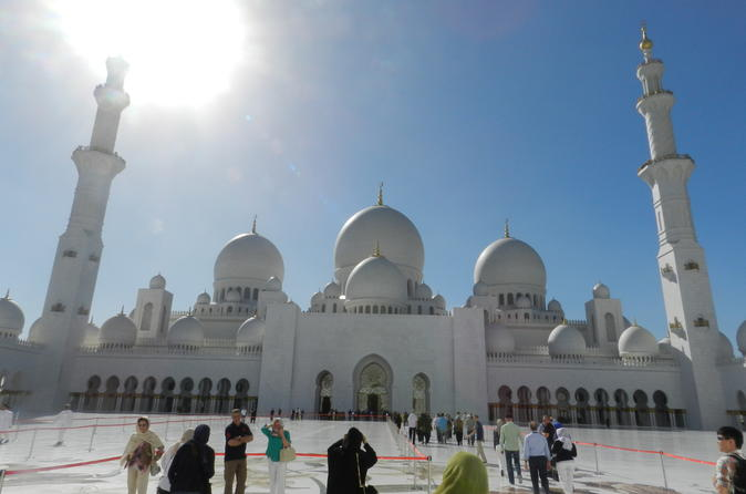 Full-Day Tour of Abu Dhabi City From Dubai