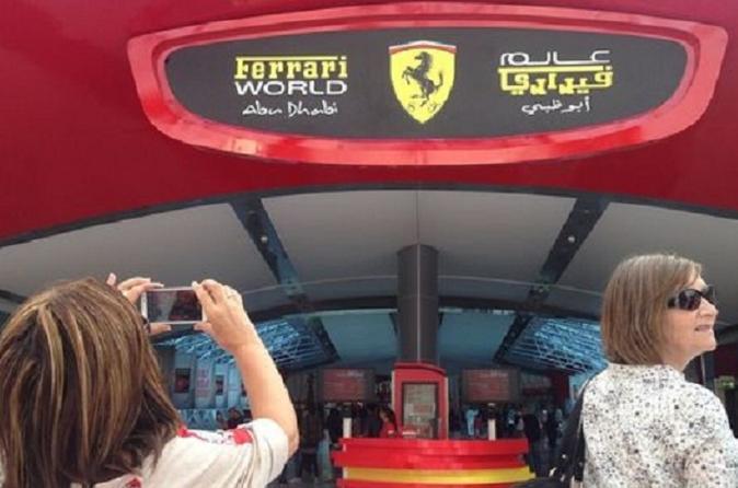 Full-Day Tour Visiting to Abu Dhabi and Ferrari World from Dubai