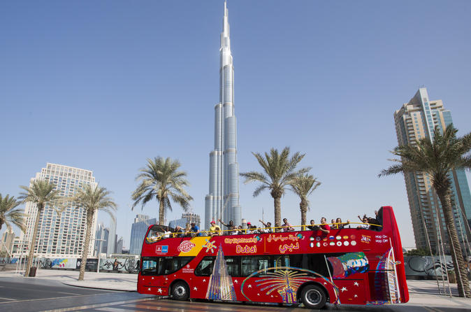 Hop-on hop-off stadstour door Dubai