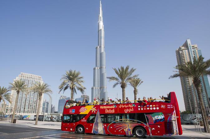 Hop-on hop-off stadstour door Dubai