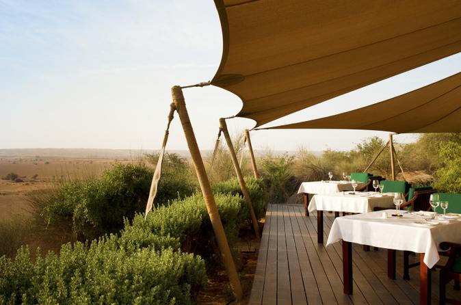Natuurtour met versnaperingen bij Al Maha Desert Resort plus vervoer
