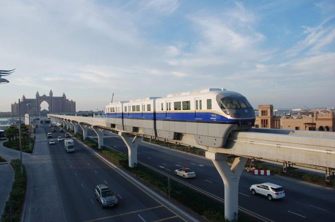 Privé-stadstour inclusief enkele reis met de monorail en de watertaxi