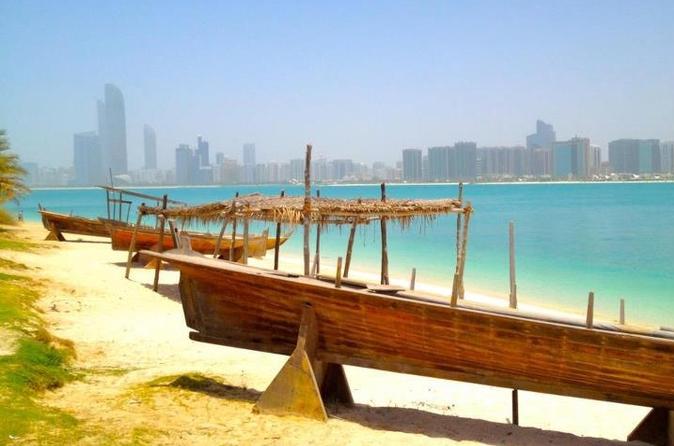 Privétour: sightseeing Abu Dhabi met vervoer vanuit Dubai