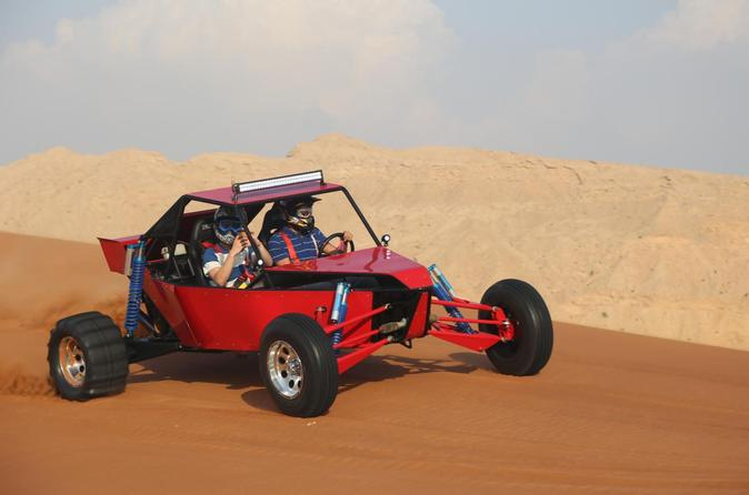 Self-Drive Desert Buggy and BBQ Dinner Experience from Dubai