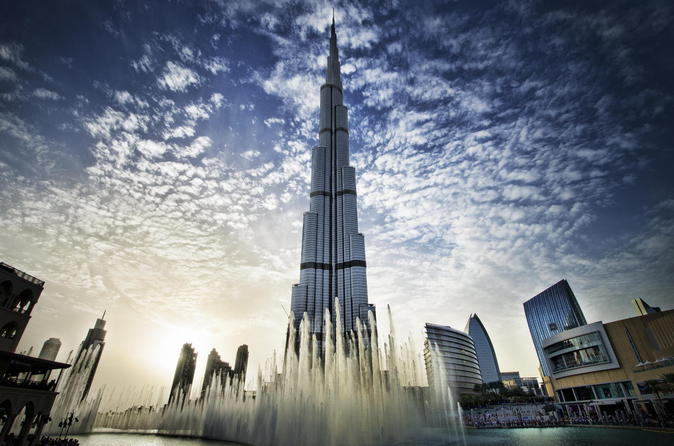 Sightseeing-dagtour naar Dubai inclusief lunch bij de Muzikale Fonteinen