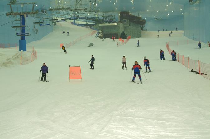 Skiën bij Ski Dubai