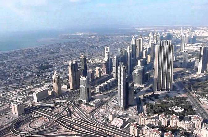 Toegang tot het observatiedek van de Burj Khalifa