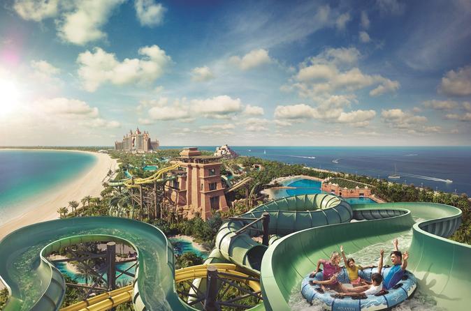 Toegang tot waterpark Dubai Atlantis Aquaventure in Dubai