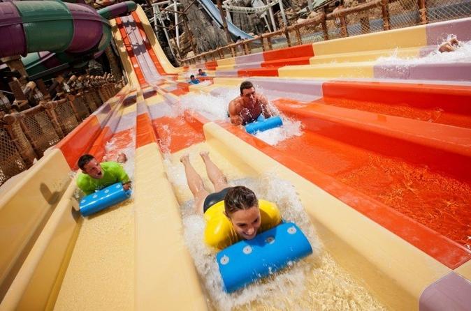Toegangsbewijs voor Yas Waterworld, inclusief vervoer vanuit Dubai