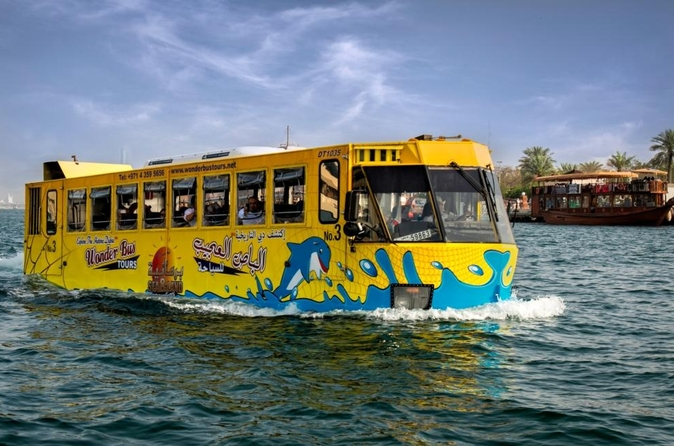 Tour Dubai over land en water