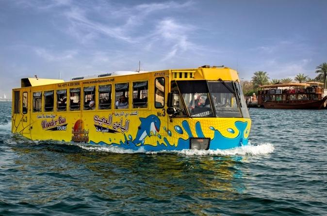 Tour Dubai over land en water